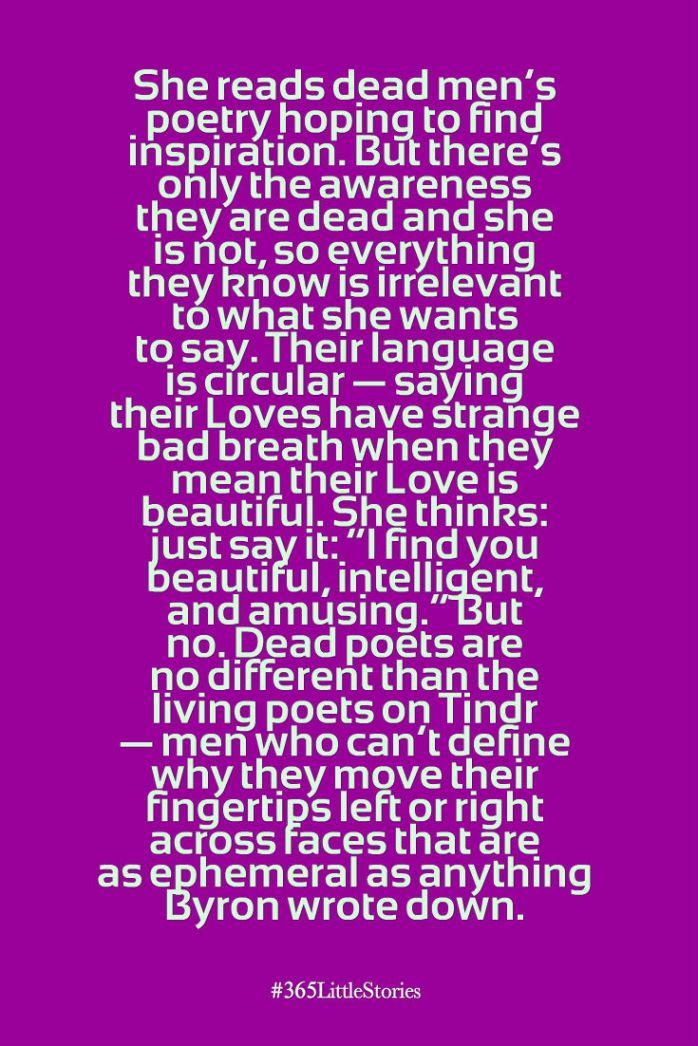 Dead Men's Poetry