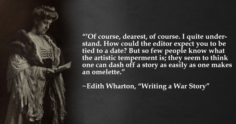 Edith Wharton Quote War Story 2
